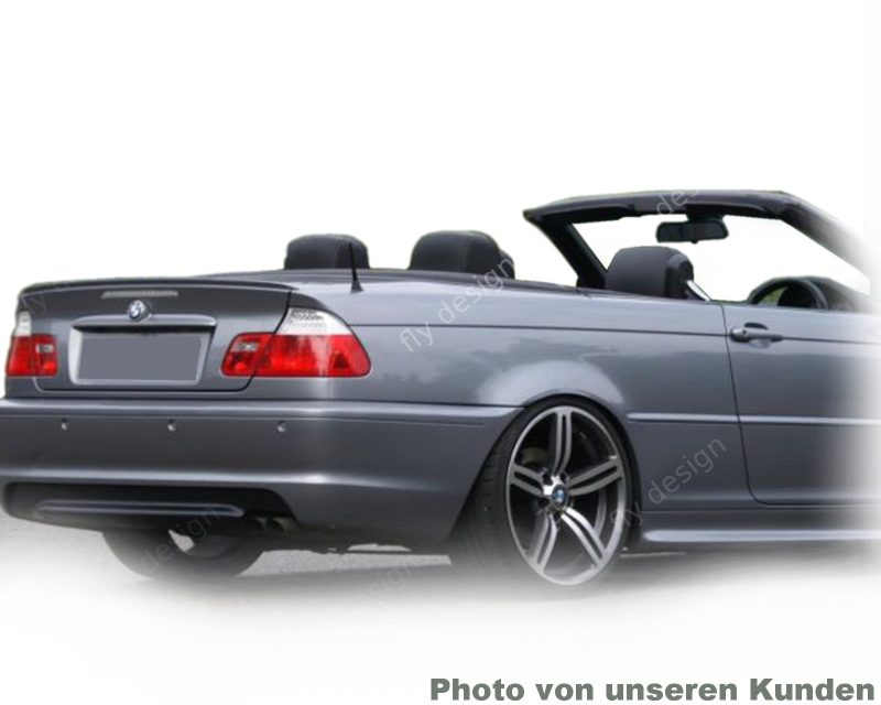 bmw e46 cabrio heckspoiler spoilerlippe spoiler lippe m m3. Black Bedroom Furniture Sets. Home Design Ideas