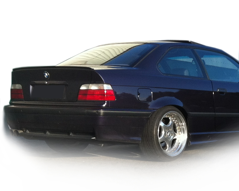 bmw e36 limo m3 heckspoiler spoiler lackiert. Black Bedroom Furniture Sets. Home Design Ideas