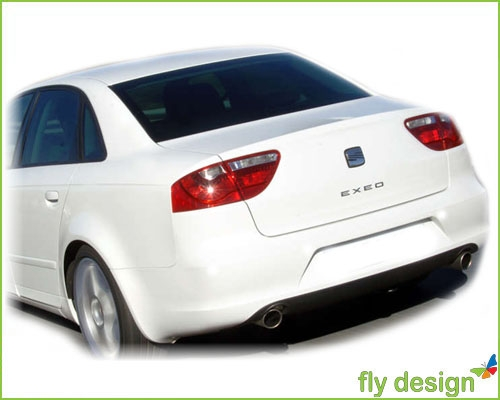 VW JETTA BORA Tuning IV 4 SPOILER HECKSPOILER KOFFERRAUM HECK Lippe * LACKIERT - fly design GmbH ...