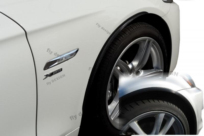 für BMW 3er E91 KOMBI TOURING 2x Radlauf Verbreiterung Kotflügel leiste aus ABS